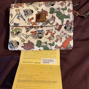 Toy Story 4 Dooney and Bourke.